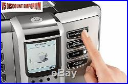 Gaggia Accademia Espresso Machine Ceramic Burr Grinder Automatic Coffee Maker