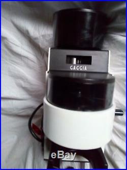 Gaggia MDF kaffeemühle espresso Burr grinder coffee Hasuike metal alu guss solid