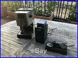Gaggia kaffeemaschine + kaffeemühle Espresso Coffee Burr grinder Tassen