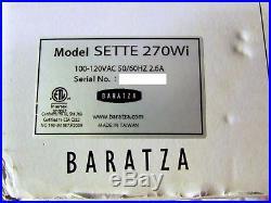 Gently Used Baratza Sette 270Wi Burr Grinder for Coffee & Espresso