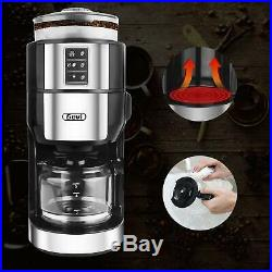 Grind and Brew Coffee Maker with Built-In Burr Coffee Grinder