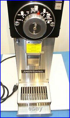 Grindmaster 890 Commercial 3lb Bulk Precision Burr Coffee Grinder Clean Not G3