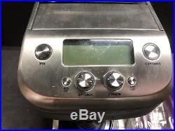 Home Coffee Brewer Kitchen Countertop Appliances Burr Grinder Locking System