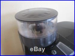 Jura CAPRESSO 10 Cup Coffee Maker & Burr Grinder Combo BLACK RARE 453