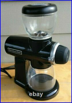 KitchenAid Burr Coffee Grinder KCG0702OB Black Onyx