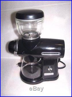 KitchenAid Burr Pro Line Coffee Grinder Model KPCG100OB1 Onyx (Black)