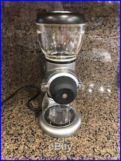 KitchenAid KCG0702CU, Burr Coffee/Espresso Grinder Contour Silver
