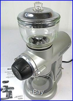 KitchenAid PRO LINE Burr Coffee Grinder, KPCG100NP1