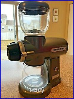 KitchenAid Pro Line Series Burr Coffee Grinder, KCG0702CU Contour Silver