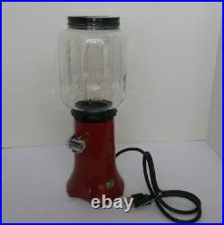 KitchenAid Red Coffee Grinder Retro Glass bowl KCG200ER