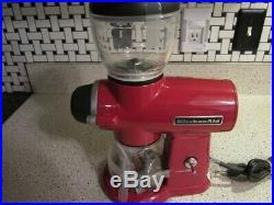 Kitchenaid Coffee Burr Grinder Empire Red KCG0702ER