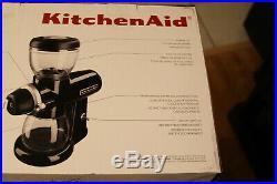 Kitchenaid KCG0702OB Coffee Burr Grinder Onyx Black