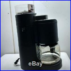 Krups 10-Cup KM7005 Programmable Coffee Maker with Burr Conical Grinder