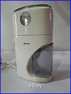 Krups 223 Coffina Coffee Grinder Germany Mr. Fusion Back To The Future Part 2