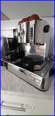 La Pavoni kaffeemaschine + kaffeemühle Espresso Coffee Burr grinder Tassen