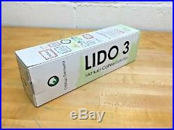 Lido 3 Manual Coffee Grinder 48mm Swiss Conical Steel Burrs with Carrying Case