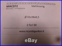 Mahlkonig 65mm Coffee Grinder Burrs Kenia Gua Lab & F K2-112/8 and K2-206/8 3081