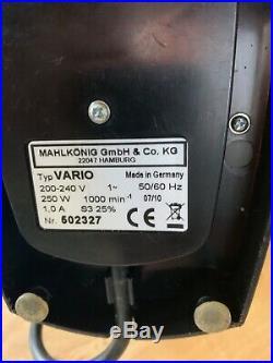 Malhkonig Vario coffee burr grinder