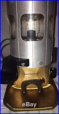 Mazzer Mestre Coffee Burr Grinder Hopper Commercial Espresso + 2 Portafilters