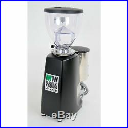 Mazzer Mini Timer Espresso Coffee Grinder Doser Black FRESH BURRS
