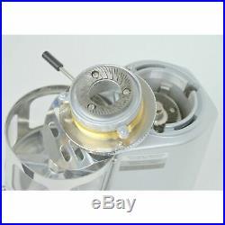 Mazzer Mini Timer Espresso Coffee Grinder Doser Silver FRESH BURRS