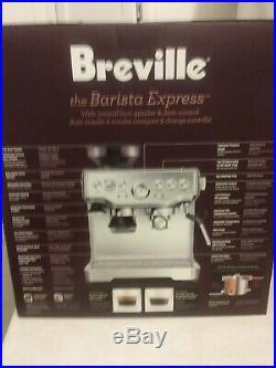 NEW Breville Barista Express BES870XL Espresso Machine Stainless Steel