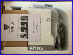 NEW, Eureka Mignon Crono Coffee / Espresso Flat Burr Timed Grinder (White)! $400