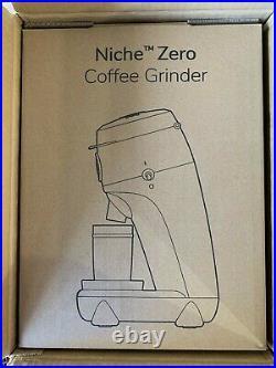 NEW Niche Zero Coffee / Espresso Grinder Black US 110v