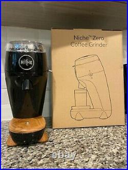 NEW Niche Zero Coffee & Espresso Grinder by Niche Coffee in Black US 110V