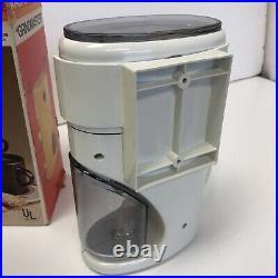 NIB Vtg New NOS Krups 223 Coffina Super Coffee Grinder ReTrO GRINDMASTER Germany