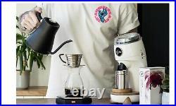 NICHE ZERO Coffee Grinder Pure White UK Plug BRAND NEW UPS Courier February