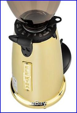 New Elektra Espresso MSDO Italian Coffee Beans Flat Burr Grinder Mill Brass 110V