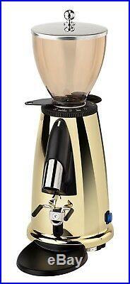 New Elektra Espresso MSDO Italian Coffee Beans Flat Burr Grinder Mill Brass 220V