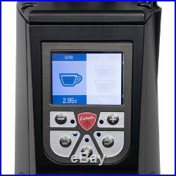 New Eureka Atom 65 Flat Burr Short Hopper Espresso Grinder Black