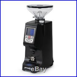 New Eureka Atom 75 Flat Burr Short Hopper Espresso Grinder Black