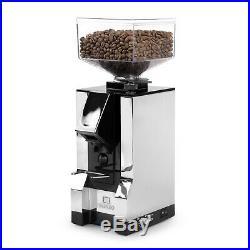 New Eureka Mignon Silenzio Ultra Quiet Timed Dosing Espresso Grinder Chrome