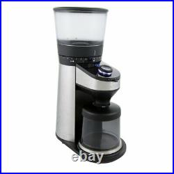 New OXO On Barista Brain Conical Burr Coffee Grinder with Integrated Scale
