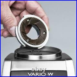 New current model Baratza Vario-W 986 red accent Ceramic Burr Coffee Grinder