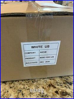 Niche Zero Coffee / Espresso Grinder Brand new unopened White 110V US