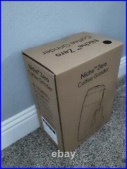 Niche Zero Coffee Grinder (Midnight Black, Brand New, Unopened US Plug)