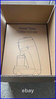 Niche Zero Coffee Grinder Pure White US Version