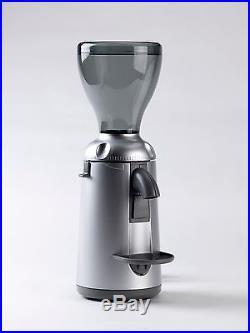 Nuova Simonelli Grinta Coffee Espresso Grinder 50mm Flat Burrs Silver 220V