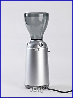 Nuova Simonelli Grinta Italian Coffee Espresso Grinder 50MM Burrs Silver 110V