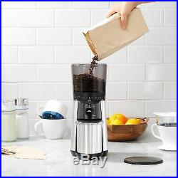 OXO Stainless Steel Conical Burr Digital Coffee Grinder