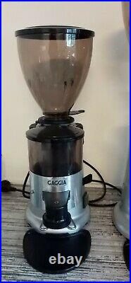 Professional Gaggia MD58 automatic (Macap) Coffee Grinder+ grinder burrs