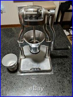 ROK ROKGRINDER Burr Coffee Grinder Aluminum