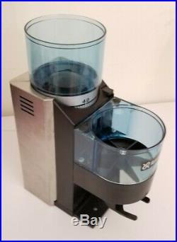 Rancilio Rocky Doser Stainless Steel 50mm Flat Burr Espresso Coffee Bean Grinder