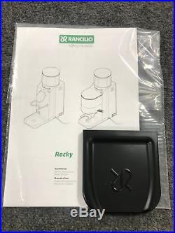 Rancilio Rocky Doserless Espresso Burr Coffee Grinder HSD-ROC-SD (Used Open Box)