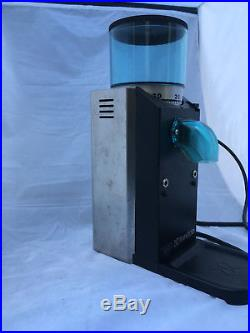 Rancilio Rocky Espresso Coffee Burr Grinder Doserless NEW Burrs
