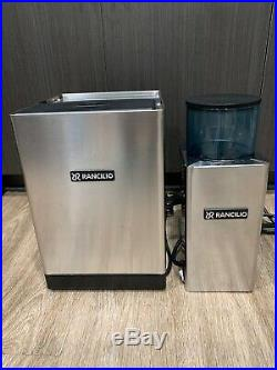 Rancilio SILVIA Espresso Coffee Machine with Frother Wand, Rocky Burr Grinder